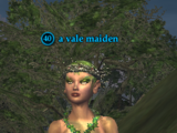A vale maiden