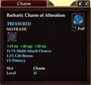 Barbaric Charm of Alteration
