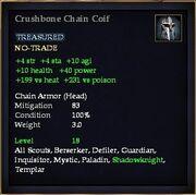 Crushbone Chain Coif