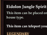 Eidolon Jungle Spirit Anchor