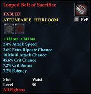 Looped Belt of Sacrifice