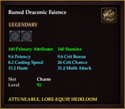Runed Draconic Faience