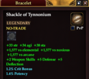 Shackle of Tynnonium (Fighter)