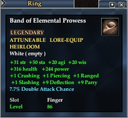 Band of Elemental Prowess