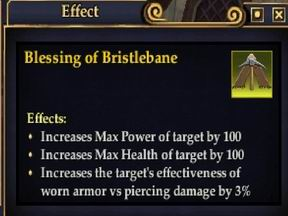 Blessing Of Bristlebane Buff