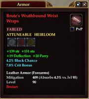 Brute's Wrathbound Wrist Wraps