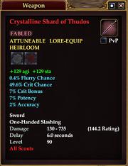 Crystalline Shard of Thudos