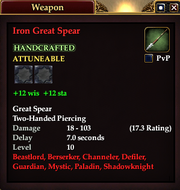 Iron Great Spear