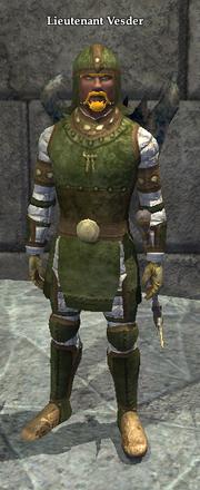 Lieutenant Vesder