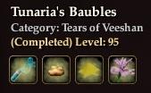 Tunaria's Baubles