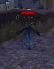 A scar wurm