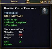 Deceitful Coat of Phantasma