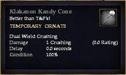 Klakanon Kandy Cone