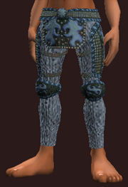 Protector's Moon Etched Leather Pants (Equipped)