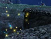 Yellow sparkles