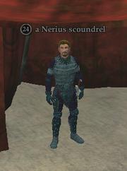 A Nerius scoundrel