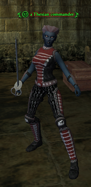 A Thexian commander