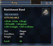 Banishment Band