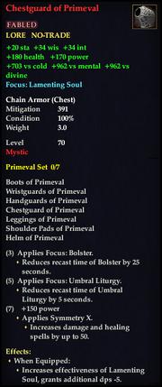 Chestguard of Primeval