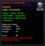 Cuirass of Perpetuity