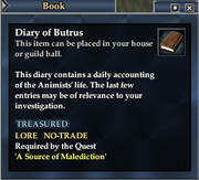 Diary of Butrus