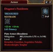 Dragoon's Pauldrons