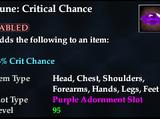Rune: Critical Chance