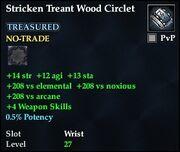Stricken Treant Wood Circlet