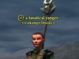 A fanatical ranger