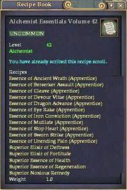 Alchemist Essentials Volume 42