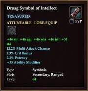 Droag Symbol of Intellect