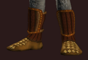 Elysian Boots of the Forest Stalker (Equipped)