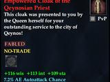 Empowered Cloak of the Qeynosian Priest