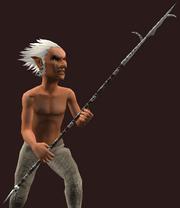 Fishbone Greatspear (Equipped)