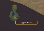 Hypostatic Oil pickup