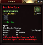 Iron Tribal Spear
