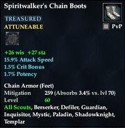 Spiritwalker's Chain Boots