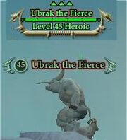 Ubrak the Fierce