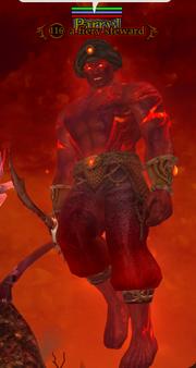 A fiery steward