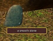 A smooth stone