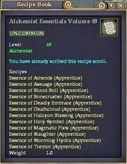 Alchemist Essentials Volume 49