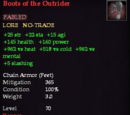 Boots of the Outrider