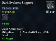 Dark Evoker's Slippers