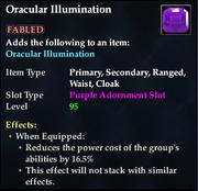 Oracular Illumination