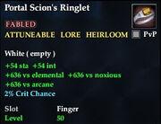 Portal Scion's Ringlet