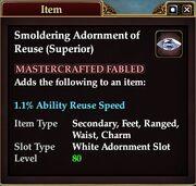 Smoldering Adornment of Reuse (Superior)