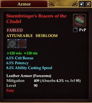 Stormbringer's Bracers of the Citadel