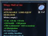 Wispy Wall of Air