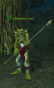 A Runnyeye seer (Enchanted Lands)