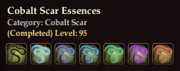 Cobalt Scar Essences